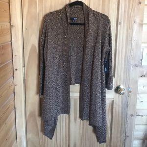 Knit sweater jacket